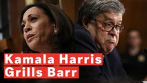 Kamala Harris Grills Barr And Gets Him To Admit He Didn't Review Underlying Evidence In Mueller Report