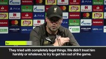 (Subtitled) Klopp admires 'world class' Messi after Liverpool defeat