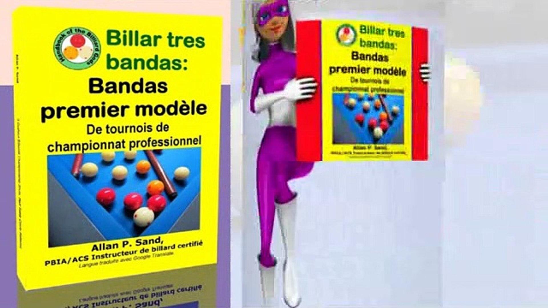 Livre vidéo pour Billar tres bandas: Bandas premier modèle (fr)