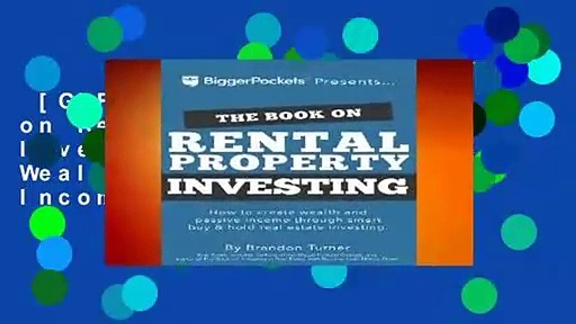 [GIFT IDEAS] The Book on Rental Property Investing: How to Create Wealth and Passive Income