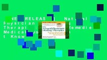 [NEW RELEASES]  Natural Physician s Healing Therapies: Proven Remedies Medical Doctors Don t Know