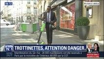 Alors que le marché des trottinettes explose, les accidents se multiplient sur les trottoirs et la chaussée