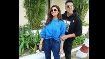 Akshay Kumar FLIRTS With Parineeti Chopra In Front Of Media At Kesari Movie Promotion