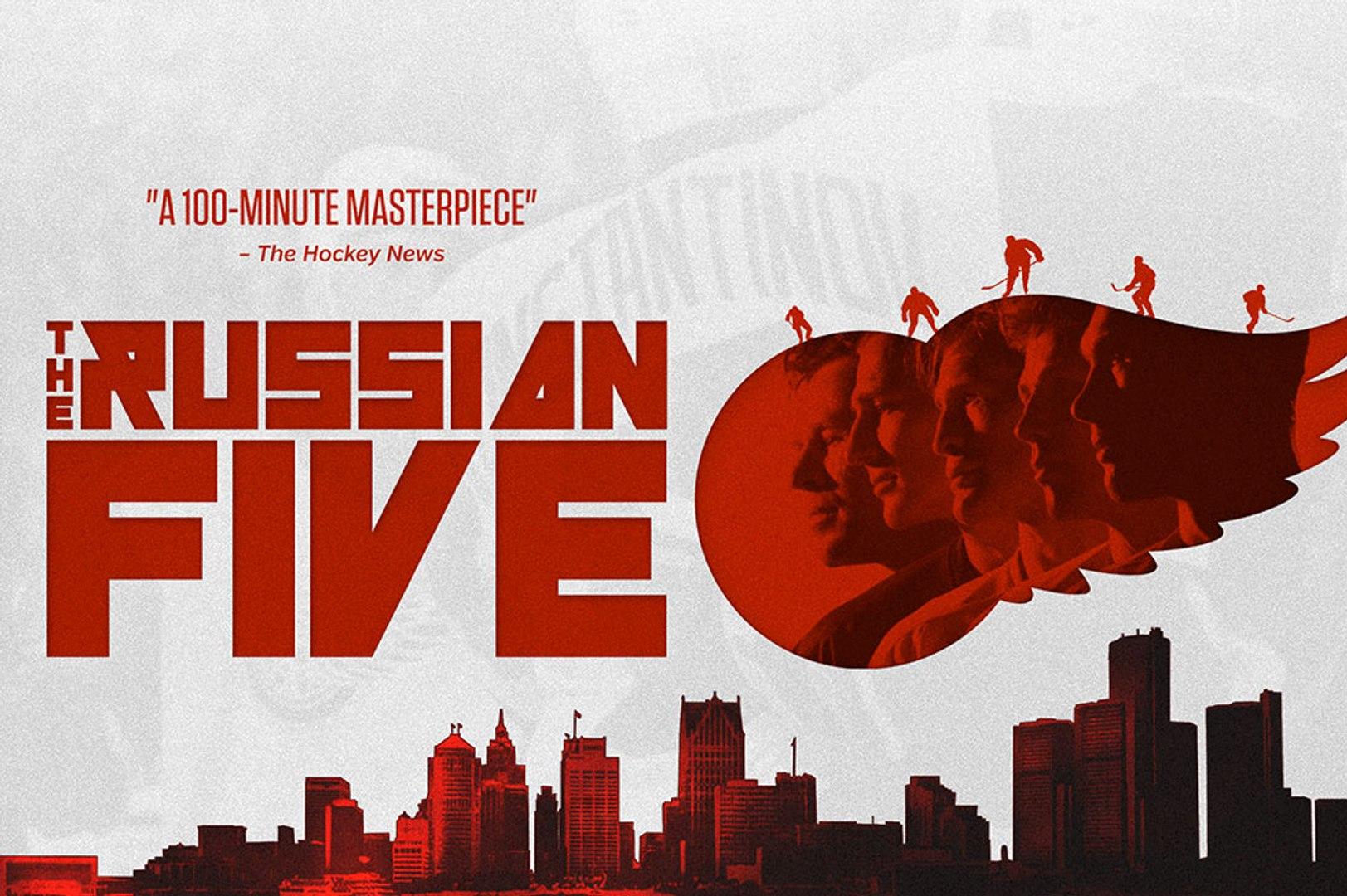 The Russian Five Trailer #1 (2019) Jim Devellano, Sergei Fedorov Documentary Movie HD