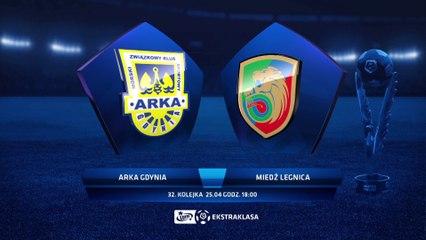 Arka Gdynia 2:0 Miedź Legnica - Matchweek 32: HIGHLIGHTS