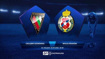 Zaglębie Sosnowiec 2:1 Wisła Kraków - Matchweek 32: HIGHLIGHTS