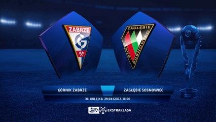 Górnik Zabrze 4:0 Zagłębie Sosnowiec - Matchweek 33: HIGHLIGHTS