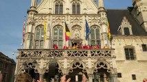 Coupe de Belgique  les joueurs de Malines fêtent la victoire dans leur ville