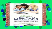 Full version  Effective Teaching Methods: Research-Based Practice, Enhanced Pearson Etext with