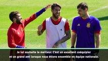 """Espagne - Jordi Alba """"souhaite le meilleur"""" à Casillas"""