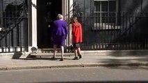 Theresa May hosts Icelandic PM at 10 Downing Street