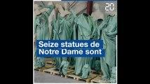 Incendie à Notre Dame de Paris: Une entreprise de Dordogne a miraculeusement sauvé seize statues