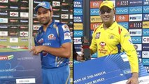 IPL 2019 : MS Dhoni Equals Rohit Sharma's 17 Man-Of-The-Match Awards Record In IPL | Oneindia Telugu