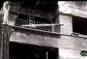 Quand l'armée syrienne tire un missile depuis... un balcon d'immeuble !