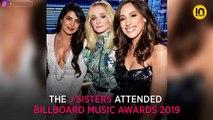 Priyanka Chopra and Nick Jonas share a kiss; J Sisters cheer for the Jonas Brothers at Billboard Music Awards 2019