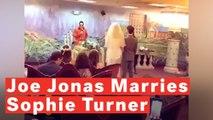 Sophie Turner And Joe Jonas Elope With Surprise Wedding Following 2019 Billboard Music Awards