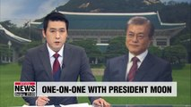 Pres. Moon to discuss his administration's policies on television next week