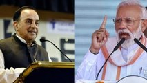 Subramanian Swamy,Narendra Modi will not be PM again,बीजेपी की 50-60 सीटें कम, मोदी नहीं बनेंगे पीएम