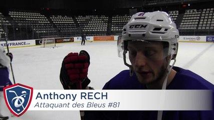 Interview de Damien Fleury et d'Anthony Rech
