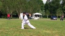 Martial Arts by Argentina Cotcheza Wu Style Tai Chi Chuan at World Tai Chi Day 2019 Zwolle