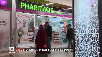 Auchan La Colère Des Salariés Du Magasin De Villetaneuse