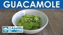 Receta de guacamole fácil y casera | QueApetito