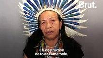 Déforestation : L'appel à l'aide d'une cheffe indigène d'Amazonie
