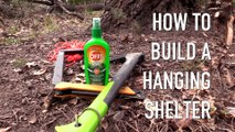 How to Build a Hanging Shelter