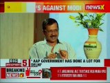 Delhi CM Arvind Kejriwal Interview; slams Rahul Gandhi for Twitter wars