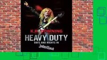 [MOST WISHED]  Heavy Duty: Days and Nights in Judas Priest by K.K. Downing