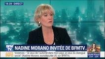 """Nadine Morano: """"Les retraites, ce n'est pas une allocution, c'est un dû"""""""