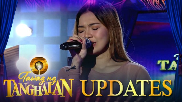 Gerlyn will do her best to keep the Golden Microphone in her hands | Tawag ng Tanghalan Update