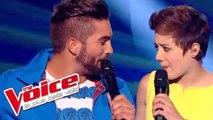Stromae – Papaoutai  | Kendji Girac & Élodie Martelet | The Voice France 2014 | Demi-Finale