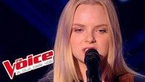Simon Garfunkel - The Sound of Silence | Johanna Serrano | The Voice France 2015 | Blind Audition