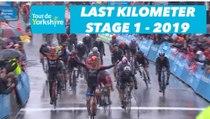 Étape 1 / Stage 1 Doncaster / Selby - Flamme Rouge / Last Kilometer - Tour de Yorkshire 2019