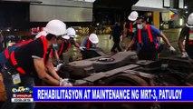Rehabilitasyon at maintenance ng MRT-3, patuloy