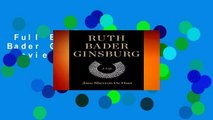 Full E-book  Ruth Bader Ginsburg: A Life  Review