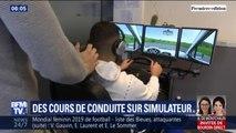 S'exercer sur un simulateur permettrait-il de baisser le coût du permis de conduire ?