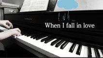 When I fall in Love, piano/ Nat King Cole/ Piano Cover/ Easy Piano ver. /Jazz piano Solo/