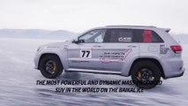 Jeep Grand Cherokee Trackhawk Sets SUV Speed Record on Ice of Lake Baikal