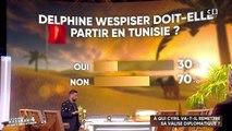 Delphine Wespiser désapprouvée par les téléspectateurs