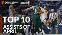 Turkish Airlines EuroLeague, Top 10 Assists of April!