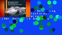 About For Books  Designing Software Architectures: A Practical Approach (SEI Series in Software