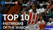 2018-19 7DAYS EuroCup: Top 10 Fastbreaks!