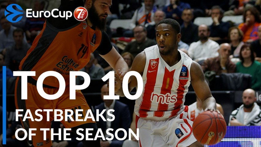 2018-19 7DAYS EuroCup: Top 10 Fastbreaks!
