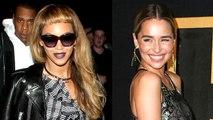 Here's What Happened When Emilia Clarke Met Beyonce!!