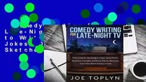Comedy Writing for Late-Night TV: How to Write Monologue Jokes, Desk Pieces, Sketches, Parodies,