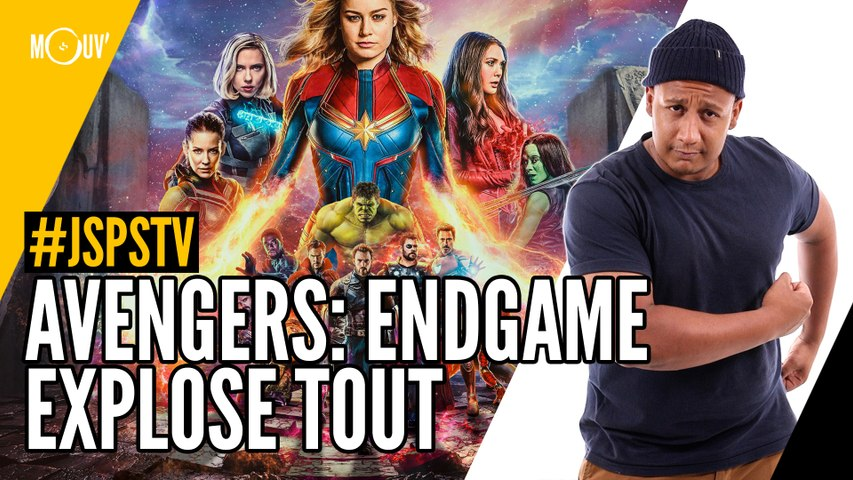 Je sais pas si t'as vu... Avengers Endgame explose tout