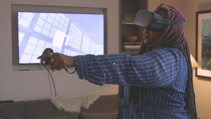 Punch, Kick and Dodge with Oculus Quest