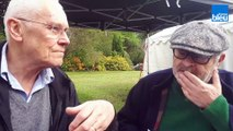 Jean Benguigui suit un cours d'insultes et de jurons en breton avec le journaliste Guy Le Corre
